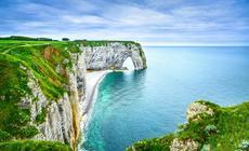 Klify Etretat, Normandia