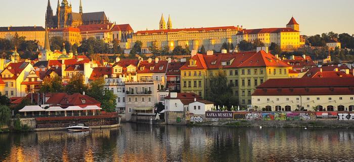 Panorama Pragi.