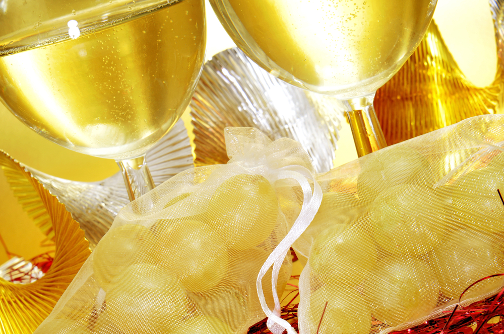 12 winogron - hiszpańska tradycja noworoczna