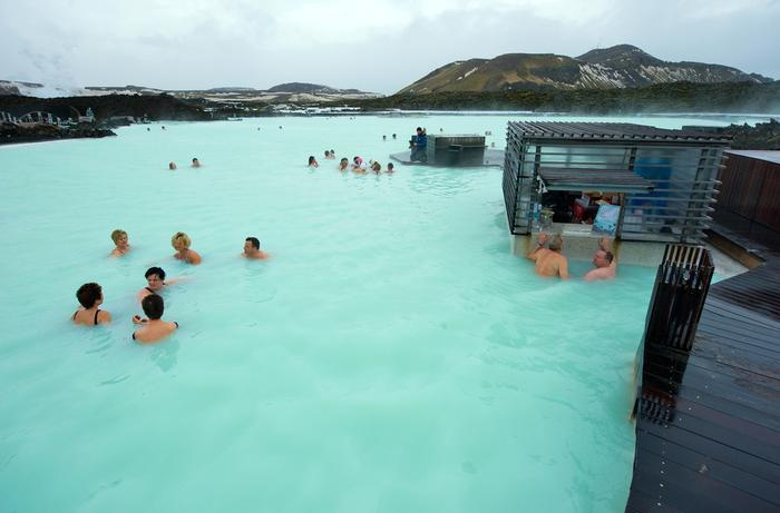 "Termy ""Błękitna Laguna"" na Islandii"