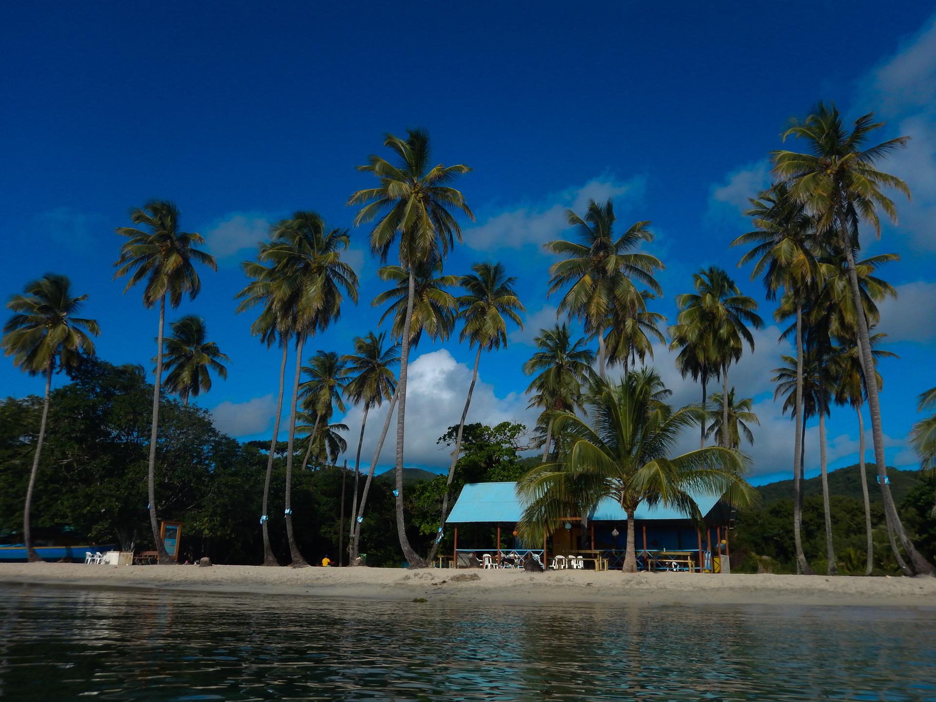 Plaża na wyspie Providencia